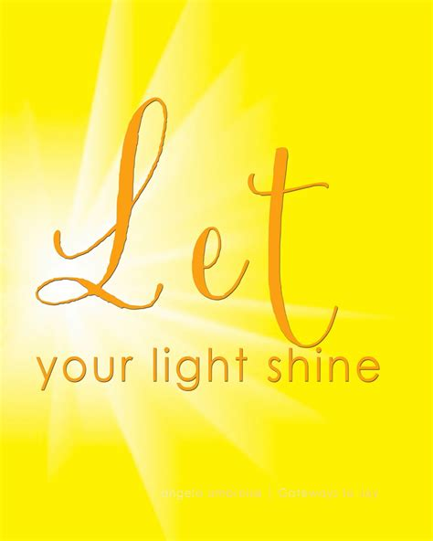 let your light shine let your light shine uncover the you were made