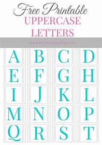 free printable alphabet letters a to z With picture letters free