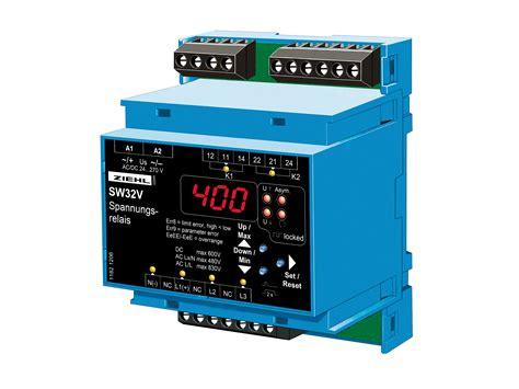 Universal Voltage Relay Type Swv Ziehl Industrie
