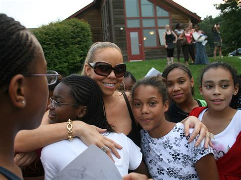 camp mariah carey career awareness camp celebrity