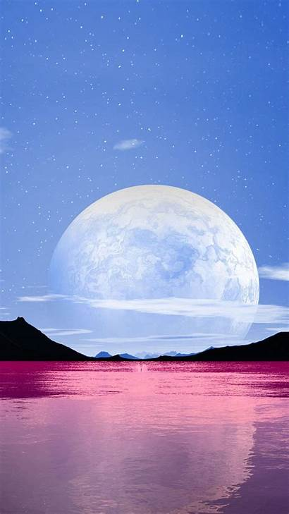 Scenery Moon Wallpapers Mobile
