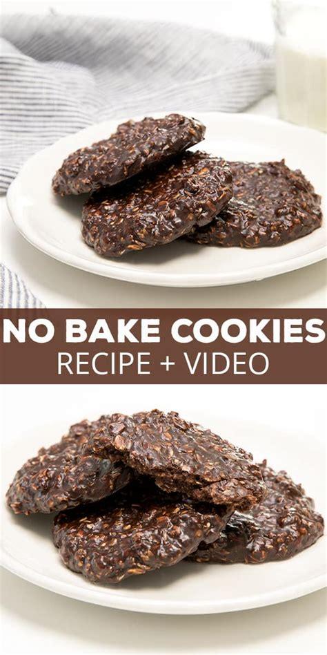 no bake cookie recipe gluten free no bake cookie recipes food cookie recipes