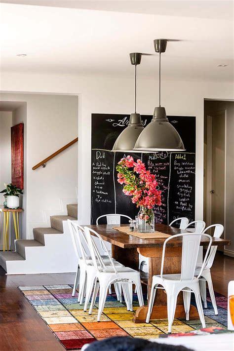 tableau de cuisine moderne le tableau noir une idée de déco cuisine créative et
