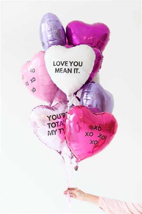 diy valentines day balloon tattoos valentines day