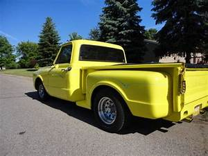 Chevrolet C Truck Stepside Pickup Yellow Pictures