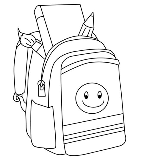 top   printable   school coloring pages