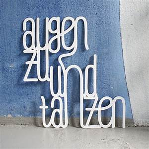 Augen Zu Und Tanzen : westpaket dekoschriftzug augen zu und tanzen online kaufen online shop ~ Watch28wear.com Haus und Dekorationen