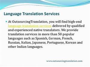 outsourcing translation document translation language With document language translation services