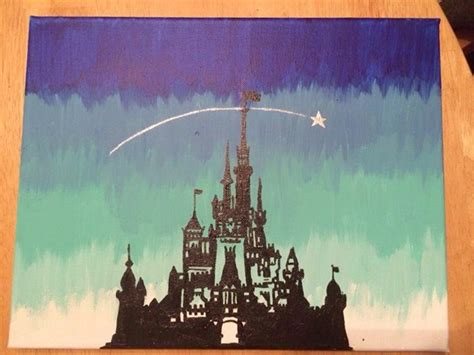 40 Pictures Of Cool Disney Painting Ideas  Hobby Lesson