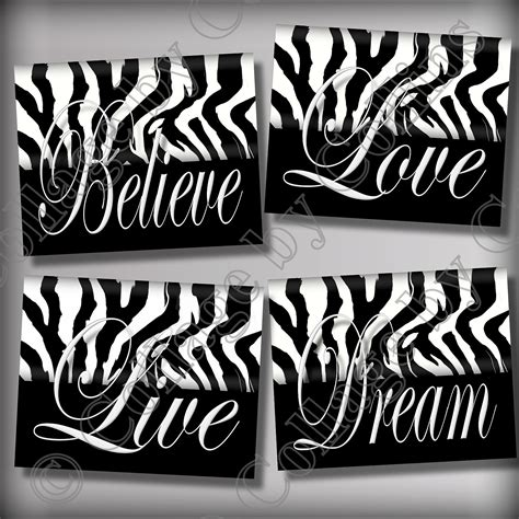 Zebra Print Room Decor Cheap by Zebra Print Wall Decor Room Live