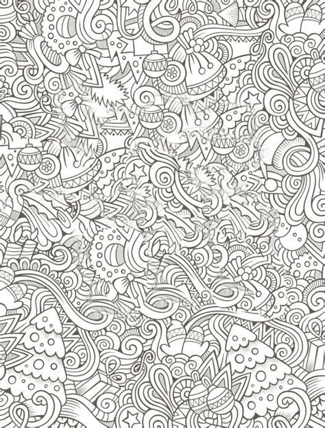 coloring pages  printable holiday adult coloring