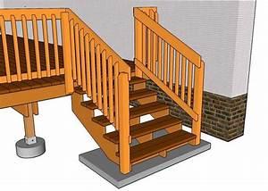 Außentreppe Holz Selber Bauen : au entreppe aus holz mit gel ndern garten pinterest ~ Lizthompson.info Haus und Dekorationen