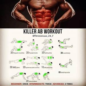 Pin On Abs Work Out