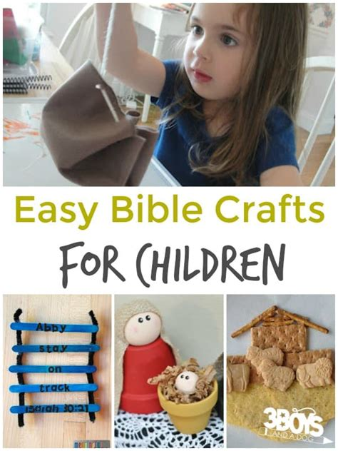 simple bible stories for preschoolers easy bible crafts for children 3 boys and a 3 boys 270