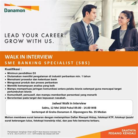 lowongan kerja bank danamon pencari kerja