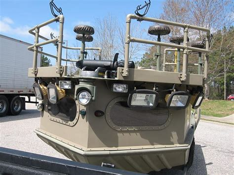 Bowfishing Boat Hulls by Custom Built Bowfish Flounder Rig 2072 W 90 Yamaha And