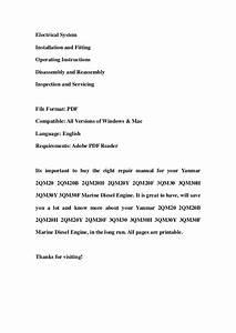 2qm20 Yanmar Diesel Manual