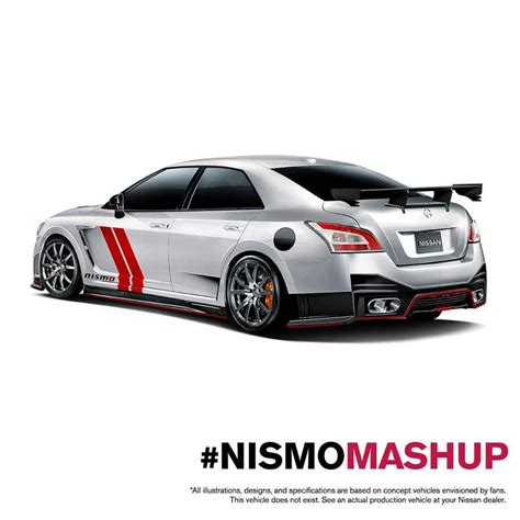 nismo nissan maxima nissan nismo mashup creates some interesting ideas photo