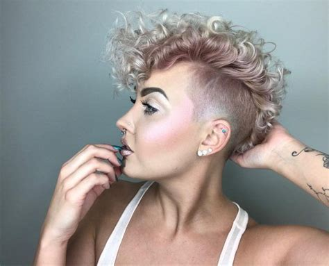 25+ Best Ideas About Shaved Hairstyles On Pinterest