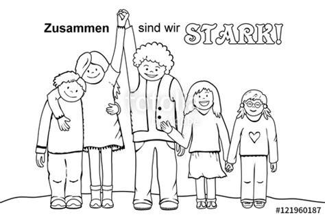 """""""zusammen Sind Wir Stark!"""" Stockfotos Und Lizenzfreie"""