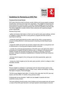 requesting amendments  draft ehc plan