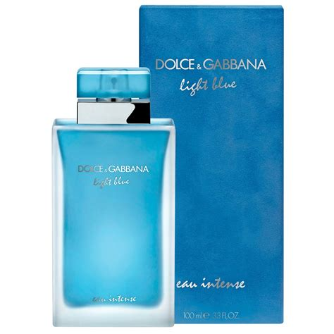 dolce and gabbana light blue 100ml price buy light blue eau intense women edp 100 ml by dolce
