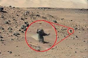 """Nasa-Mission : Ist das ein Mars-Mensch auf dem """"Curiosity ..."""