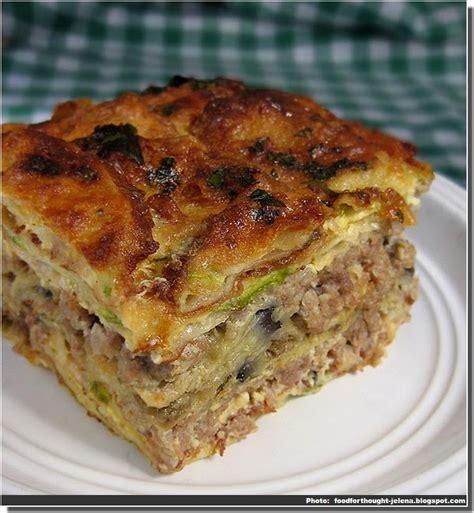 cuisine serbe recette de moussaka serbe sprska musaka cuisine serbe
