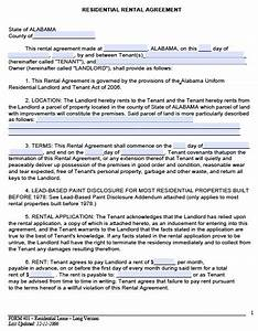 free rental lease agreement template sample lease With 12 month lease agreement template