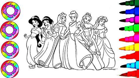 disneys princesses jasmine belle ariel aurora