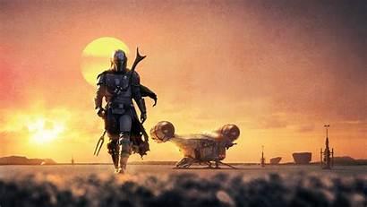 Wars Star Mandalorian Background Wallpapers Resolution 4k