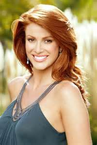 Famous Redhead Angie Everhart