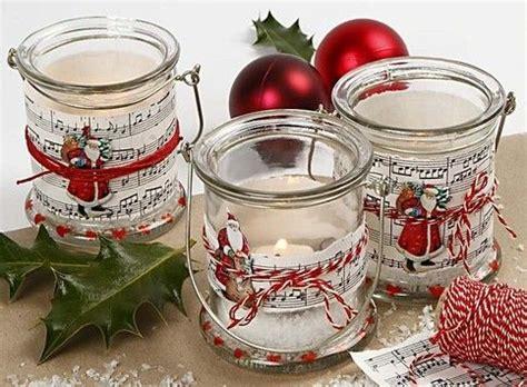 neu bastel projekte fuer weihnachten glaeser basteln