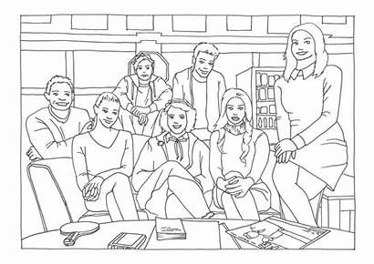 Riverdale Coloring Pages Tv Items Covers Flipsnack