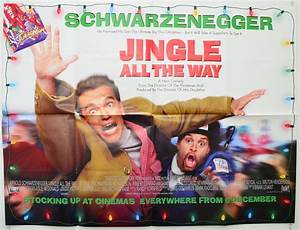Jingle All The Way - Original Cinema Movie Poster From ...