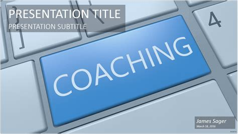 Free Coaching Templates by Coaching Ppt 65566 Free Coaching Ppt By Sagefox 10615