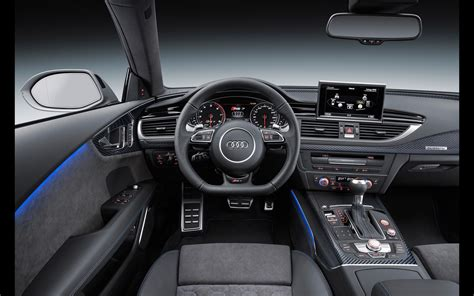 audi rs sportback performance interior