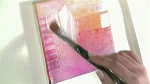 Fotos Auf Acryl : malen lernen mit acryl thema collage und transfertechnik auf leinwand youtube ~ Watch28wear.com Haus und Dekorationen