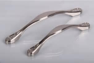 kitchen furniture handles 96mm zinc alloy brushed finished silver cabinet knobs dresser handles kitchen cabinets handles