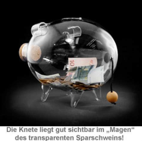 sparschwein aus glas sparschwein aus glas geld in transparenter spardose sichtbar
