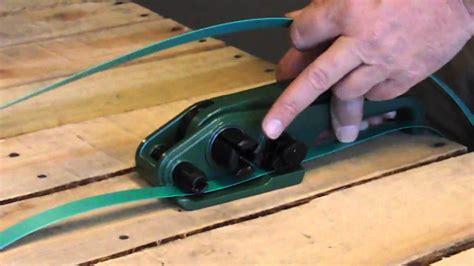 economy plastic banding tensioner ep  youtube