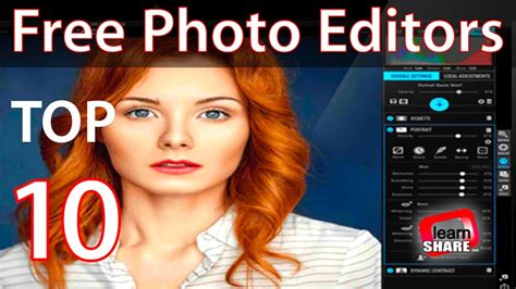 photo editing software  youtube