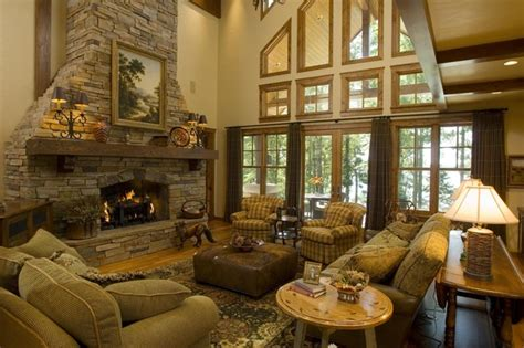 Great Room  Rustic  Living Room  Minneapolis By