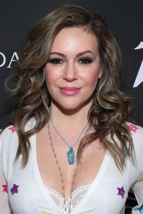 alyssa milano attends   anniversary gala benefiting