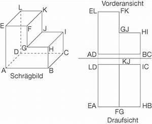 Körper Berechnen : zweitafelbild geometrie im raum mathe digitales schulbuch spickzettel ~ Themetempest.com Abrechnung