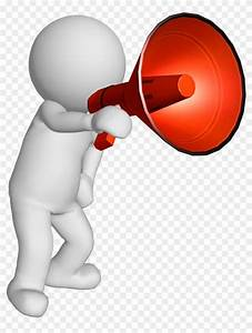 30 Megaphone clipart announcement for free download on ...