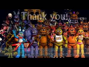 All FNAF Character Theme Songs (1-4 + DLC) V2 [READ ...