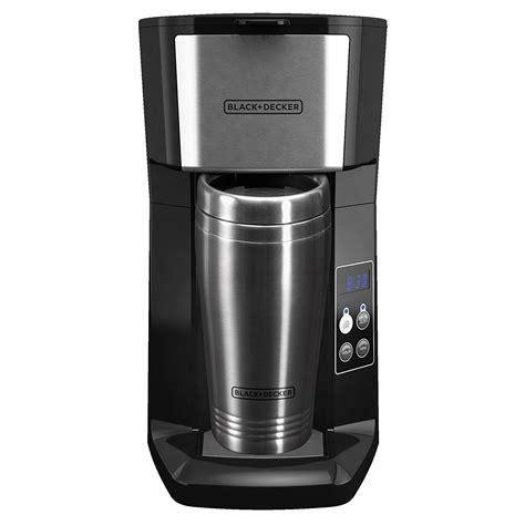 But a single cup coffee maker ensures you. BLACK+DECKER CM625B Programmable Single Serve Coffee Maker with Travel Mug, Black - Walmart.com