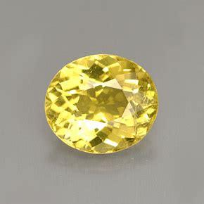 Oval Facet Yellow Tourmaline - Gemstone Image