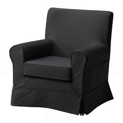 ikea ektorp jennylund armchair slipcover idemo black chair cover